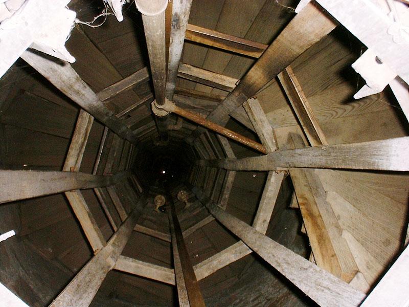 ショットタワー内部